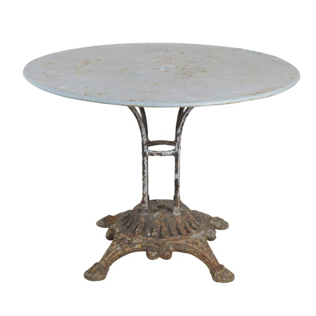 French Round Iron Table GA4455331