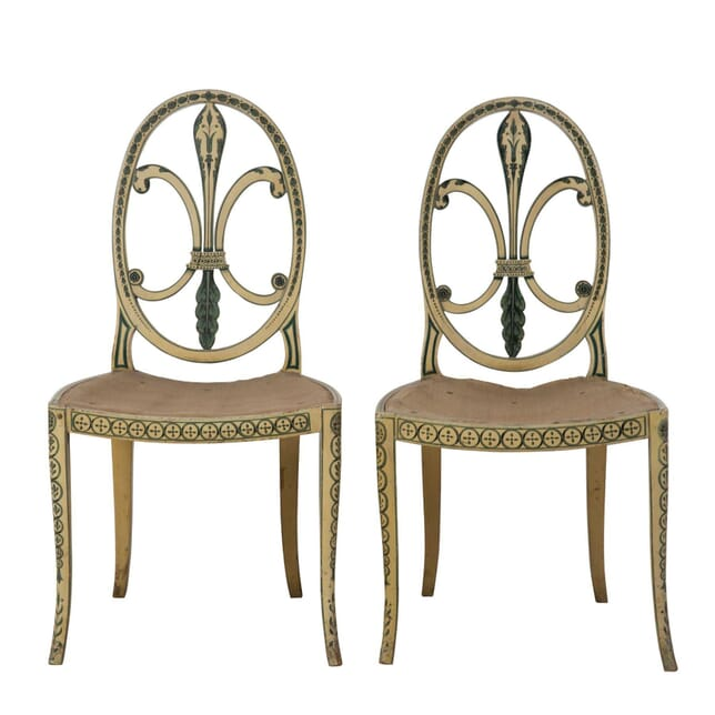 Pair of George III Style Side Chairs CH2354024