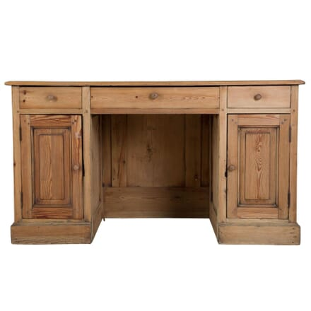 Early 20th Century Bleached Pine Desk DB4410089