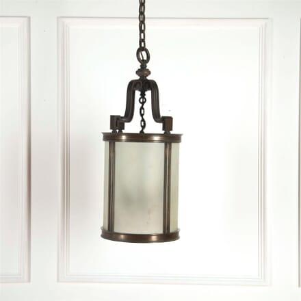 Bronze Edwardian Glass Porch Lantern LL5361790