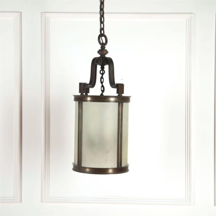 Bronze Edwardian Glass Porch Lantern LL5361790