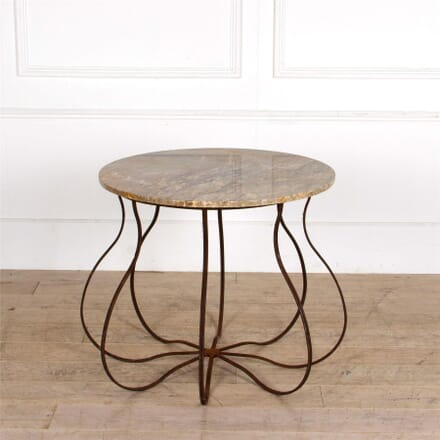 Iron And Marble Centre Table TC287310