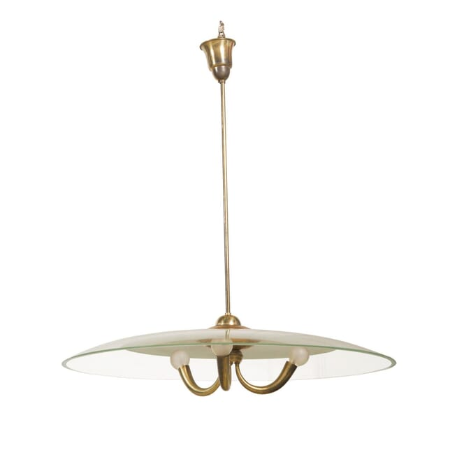 Brass and Glass Ceiling Light LC3057513
