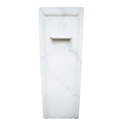 A 19th Century Upcycled Marble Slab Wall Fountain GA3358950