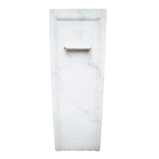 A 19th Century Upcycled Marble Slab Wall Fountain GA3358950