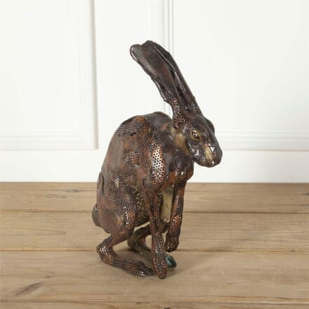 Copper Hare Sculpture DA287588