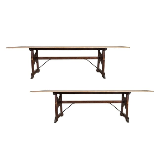 Pair of 19th Century Pine Tables TD2353936