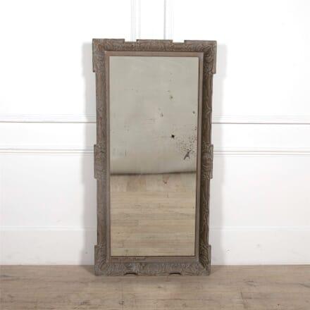 Large 1930's Carved Frame Mirror MI1561886