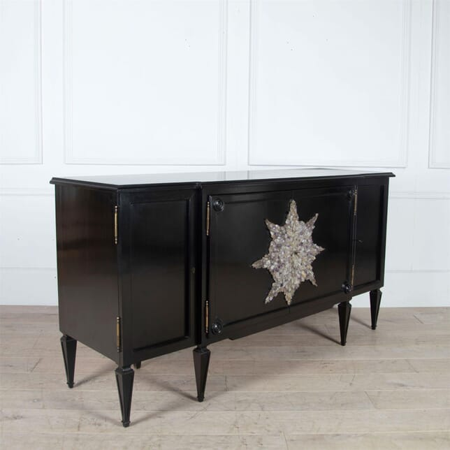 Ebonised Sideboard by Missoni with Crystal Decoration BU0161207