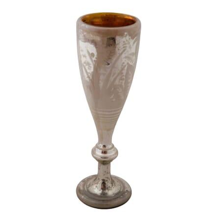 Tall Mercury Glass Goblet DA7158876