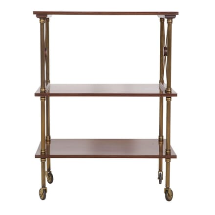 Mahogany Three Tier Side Table BK4559707