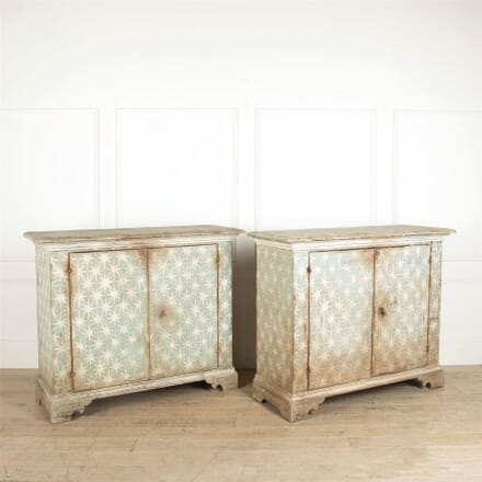Pair of Painted Italian Buffets BU017671