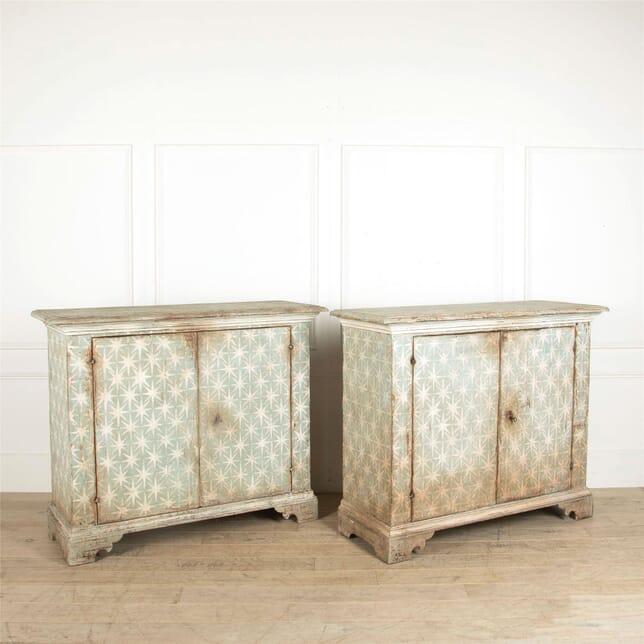 Pair of Painted Italian Buffets BU017671
