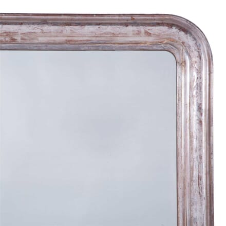 Large Silver Leaf Louis Phillippe Mirror MI7159826