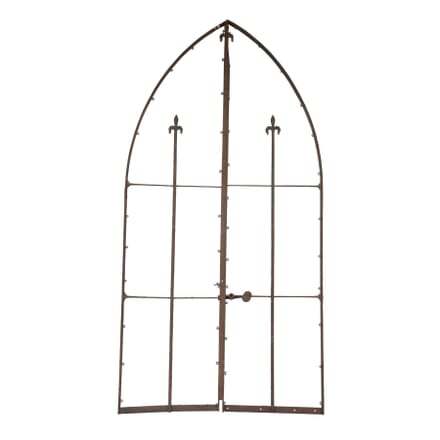Pair of Gothic Iron Gates GA0156664