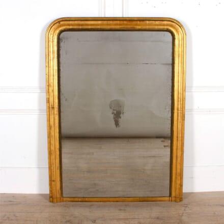 Gilded Gesso Overmantel Mirror MI307534