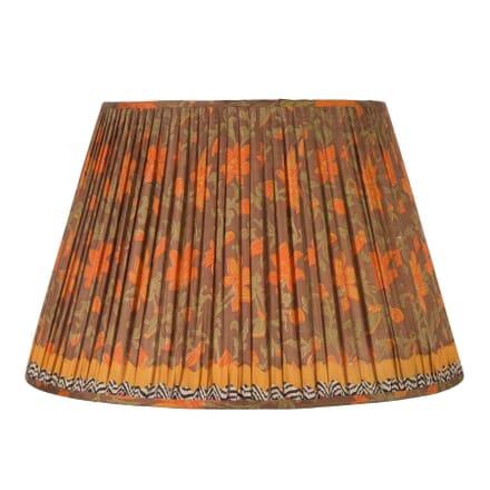 50cm Orange Silk Lampshade LS6660485