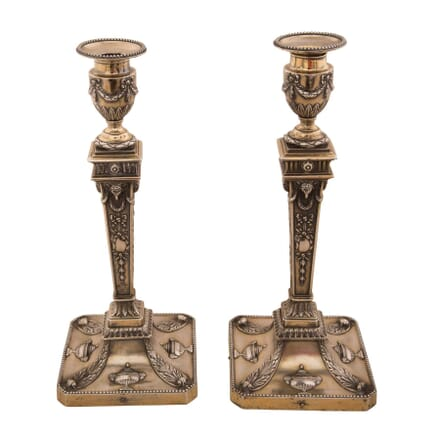 Pair of Neo-Classical Revival Candlesticks DA1559574