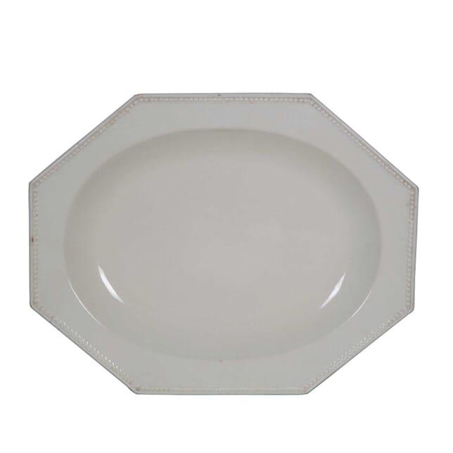Creamware Serving Platter DA0155554