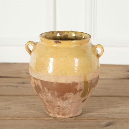 Pale Yellow Confit Pot DA717272