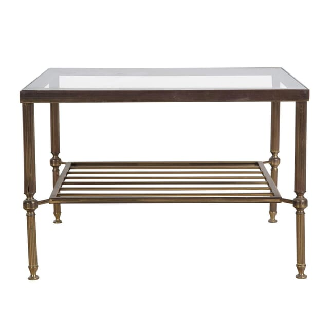 Brass and Glass Coffee Table TS0454742