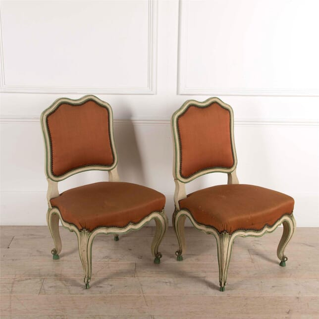 Pair of Single Painted Chairs CH5261729