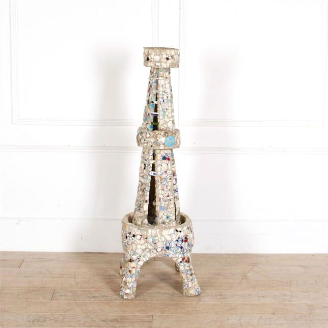 Pique Assiette Eiffel Tower Sculpture DA287312