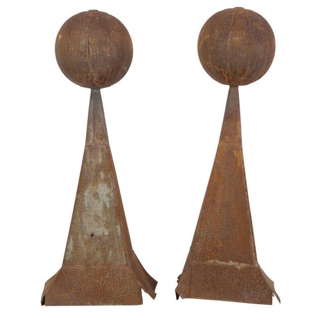 Pair of 19th Century Finials DA157215
