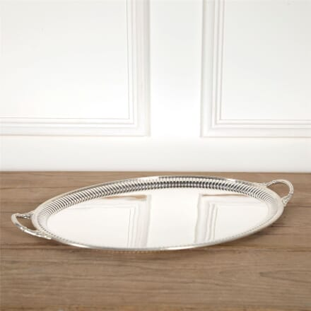 Superb Mappin & Webb English Silver Plated Serving Tray DA5862051