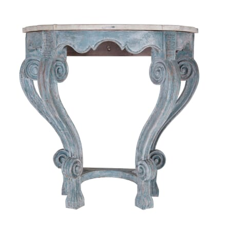French 18th Century Painted Console CO3660714