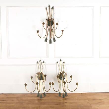 Set of Three Maison Jensen Wall Lights LW737452