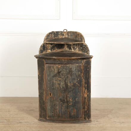 French Painted Corner Cupboard CU207560