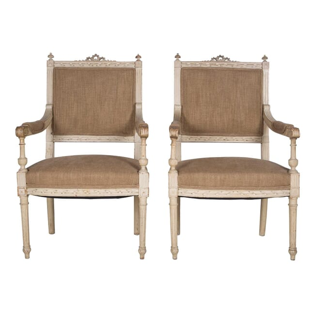 Fine Pair of French Fauteuils CH6360403