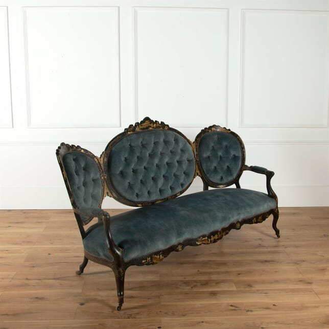 19th Century French Chinoiserie Sofa SB0361675