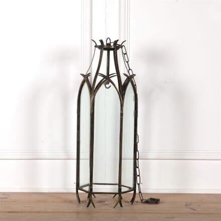 An Early 20th Century Hexagonal Brass Lantern LL2562581