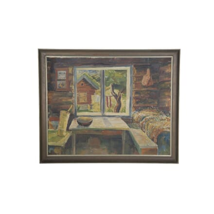 Post Impressionist Oil on Canvas WD0556676
