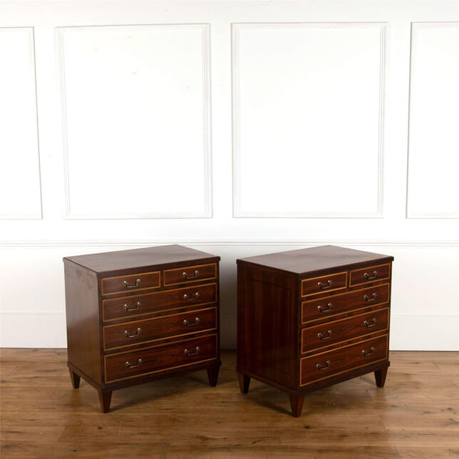 Pair of Rosewood commodes CC3562595