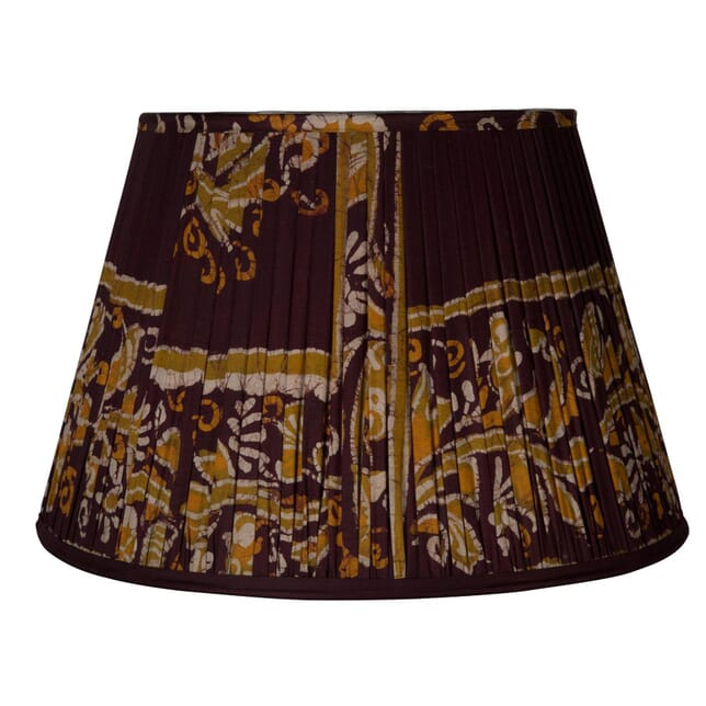 50cm Brown Silk Lampshade LS6659404