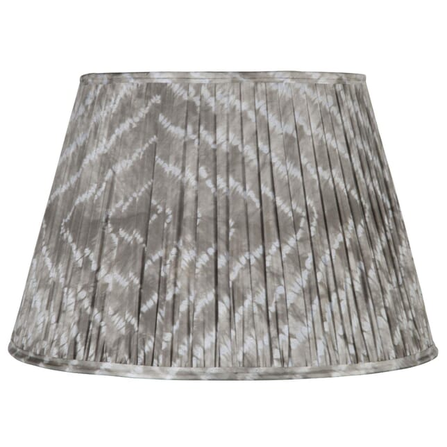 50cm Grey Silk Lampshade LS6659416