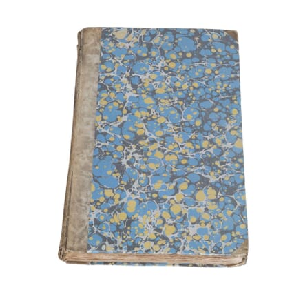 Large 19th Century English Book DA4412465