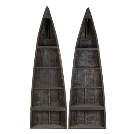Pair of Clinker Bookcases BK049604