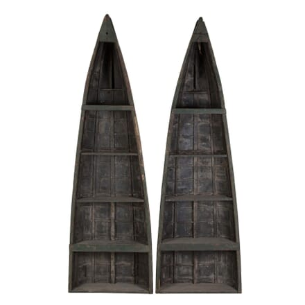 Pair of Clinker Bookcases BK049604