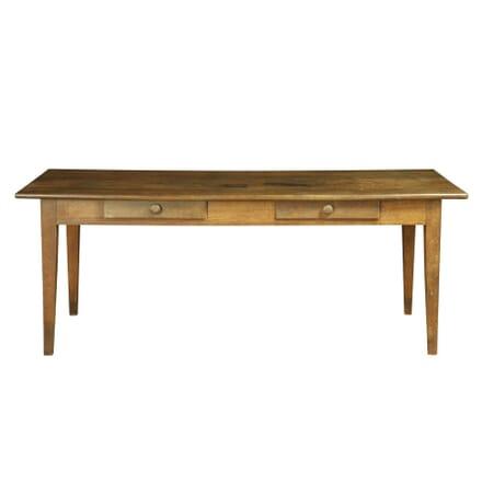 French Oak Farmhouse Dining Table TD170078