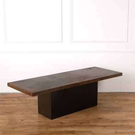 Copper Top Coffee Table CT437495
