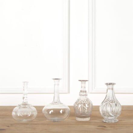 Set of Four Cut Glass Decanters DA587765