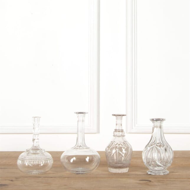 Set of Four Cut Glass Decanters DA587765