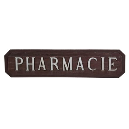 19th Century Pharmacy Sign WD4154813