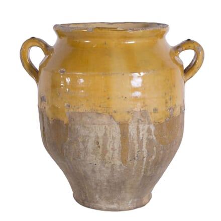 Yellow Confit Pot DA7160124