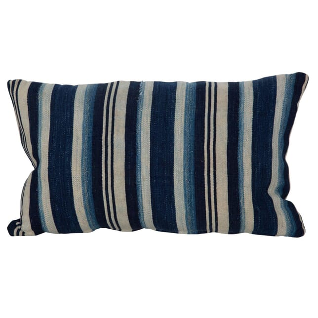 African Indigo Striped Cushions RT016092