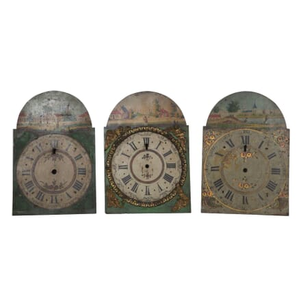 19th Century Dutch Metal Clock Faces DA3511092
